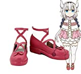 Miss Kobayashi's Dragon Maid Kanna Kamui Cosplay Shoes Boots Custom Made