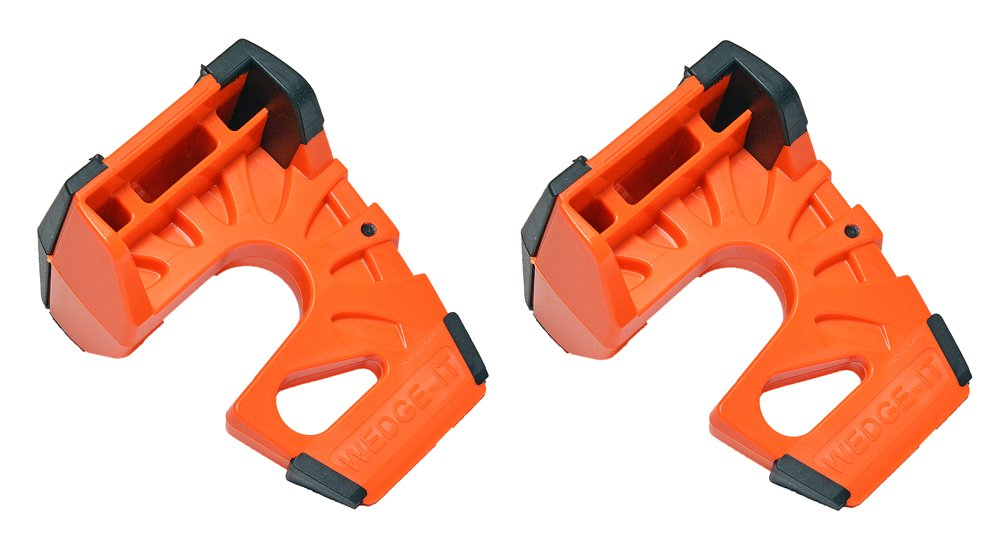 Wedge-It -Orange Wedge-It The Ultimate Door Stop 2 Pack Orange