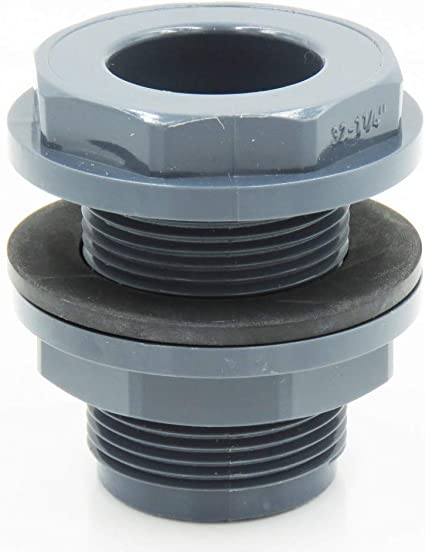 traverseée mampara de PVC para manguera de diámetro 50 mm Conexión rápida por presión – jardiboutique: Amazon.es: Jardín