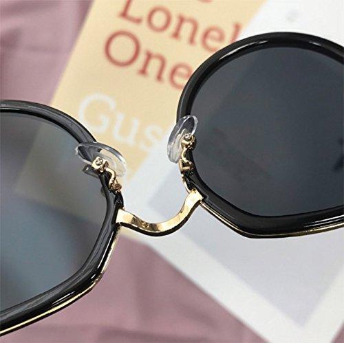 FZG Soleil des C De air Harajuku Girl Soleil Tendance Glasses de Lunettes de Plein Cute Vintage Lunettes C Lady Mode Couleur qqxwdz8frR