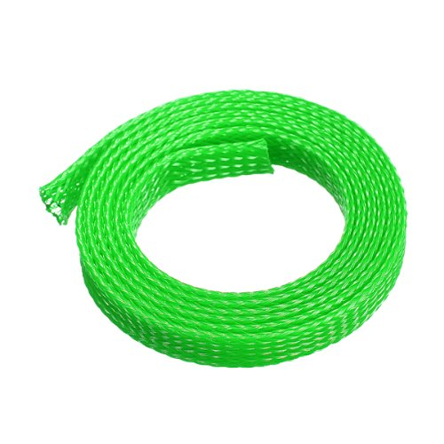 1M 8mm Expanding Braided Cable Wire Sheathing Sleeve Sleeving Harness 4 Color Choice