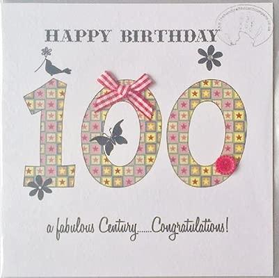 Feliz cumpleaños 100 A fabuloso del siglo... Felicidades ...