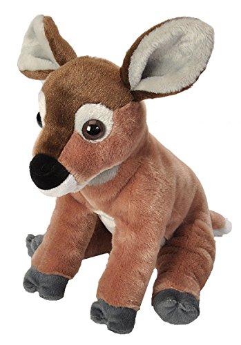 Wild Republic Mule Deer Plush, Stuffed Animal, Plush Toy, Gifts for Kids, Cuddlekins 12 Inches ()