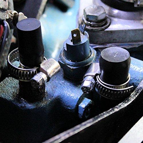 AutoScheich/® 3//4 Zoll 19mm Kappe Gummikappe Schutzkappe Blindstopfen Endst/ück Stopfen Gewinde Schlauch