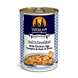 Weruva Classic Dog Food, Bed & Breakfast with Chicken, Egg, Pumpkin & Ham in Gravy, 14oz Can (Pack of 12)