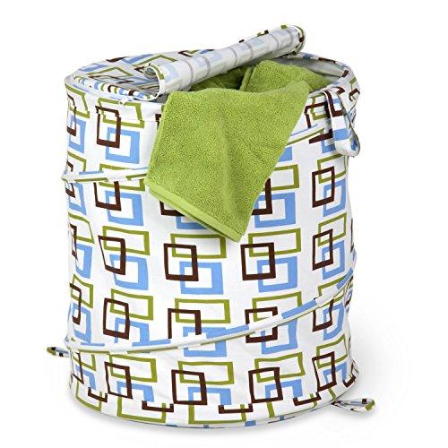 Honey Can Do HMP 01560 Hamper Squares Design