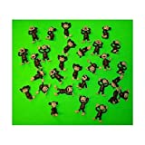 Monkey Figures 25 Tiny Plastic Monkey Figures Party Favors by A&A