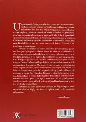 UNA HISTORIA DE ESPAÑA PARA MARTINA: Amazon.es: MARTIN VAQUERO, RUBEN: Libros