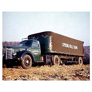1947 International KB Tractor Trailer Truck Photo Poster