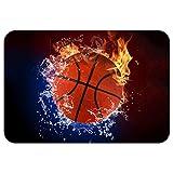 ZBLX Football-Basketball-Baseball Doormat-Stylish Floor Mat Rug Indoor Bathroom Mats Rubber Non Slip...