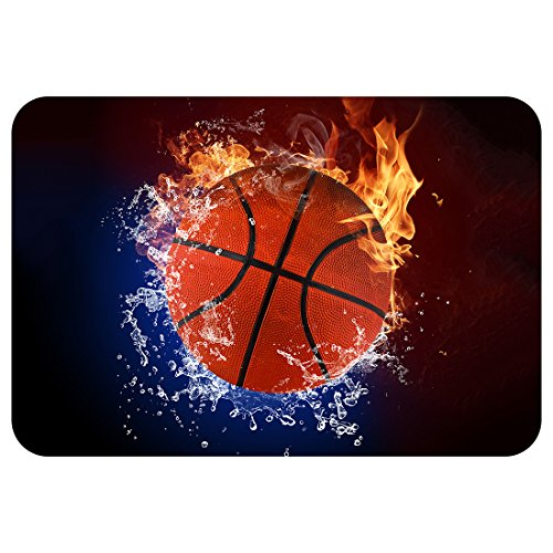 Football-Basketball-Baseball Doormat-Stylish Floor Mat Rug Indoor Bathroom Mats Rubber Non Slip - Deco Cocoa