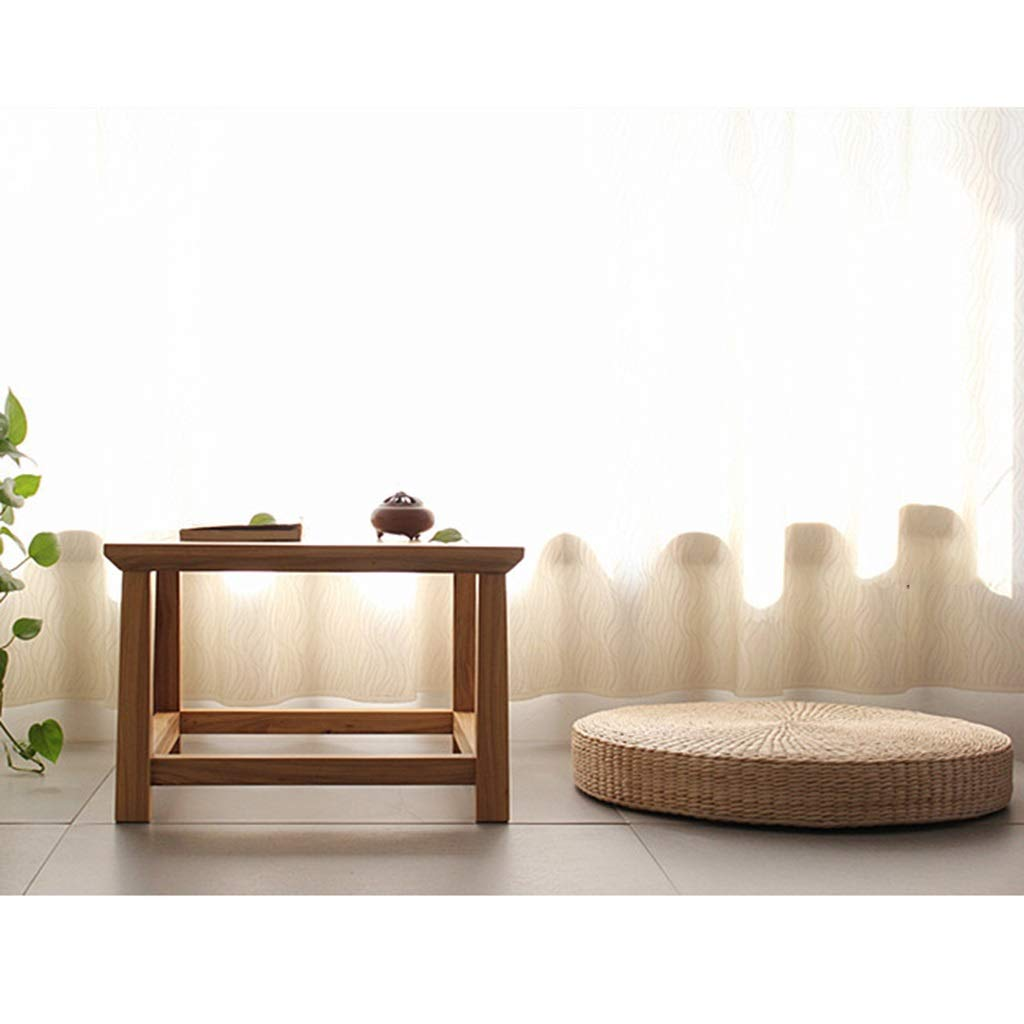 RXY-Wicker chair Japanese-Style Thick Hand-Made Futon Meditating Meditation Window Tatami Cushion (Size : 50cm) by RXY-Wicker chair (Image #2)