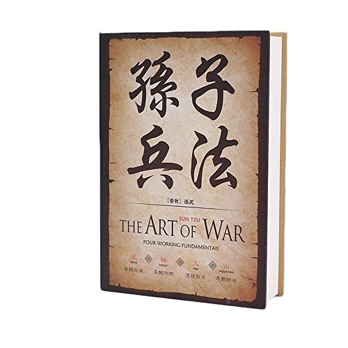 Arte Griego Diccionario desviación libro seguro con Key Lock, The Art of the War