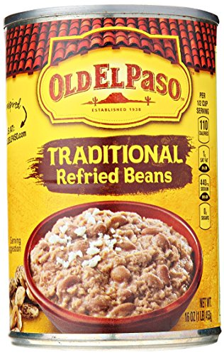 Old El Paso Refried Beans, 16 Ounce