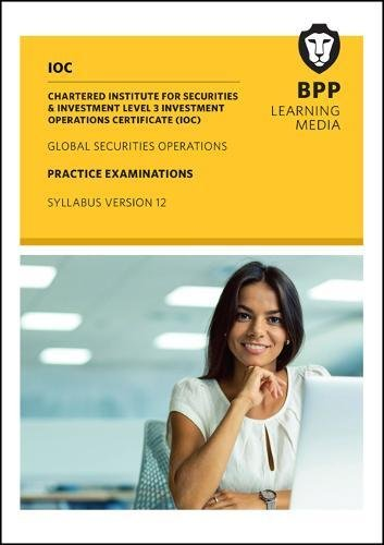 IOC Global Securities Operations Syllabus Version 12: Practice Exams pdf