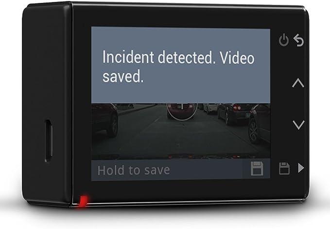 Garmin Dash Cam 45 Ultrakompaktes Design 2 1 Mp Kamera Mit Schnappschussfunktion Fahrspurassistent Go Alarm Und Überwachungsmodus Beim Parken Generalüberholt Navigation
