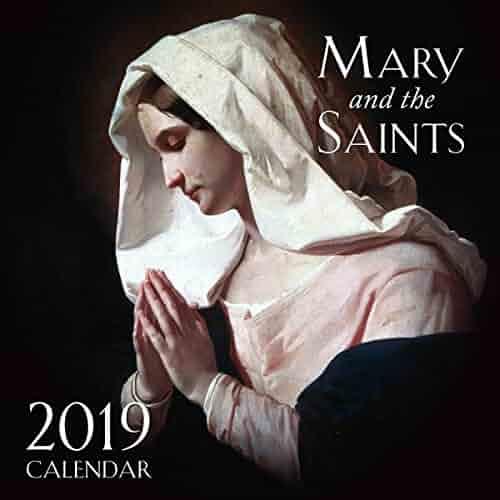 2019 Mary and the Saints Wall Calendar
