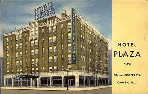 Entrance to Philadelphia-Camden High Speed Line from Hotel Plaza Lobby Garage Original Vintage Postcard