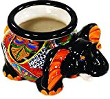 TALAVERA ELEPHANT MICHOACANA PLANTER (MULTI) For Sale