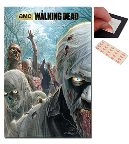 Bundle - 2 Items - The Walking Dead Zombie Hoard Poster - 91