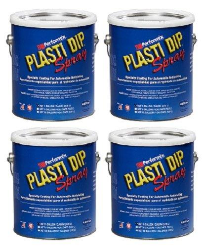 Plasti Dip Performix 10104S-4PK Blue Spray - 1 Gallon, (Pack of 4)