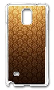 Adorable Golden Vintage Hard Case Protective Shell Cell Phone For Case Samsung Galaxy S4 I9500 Cover - PC Transparent