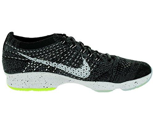 Wmns Volt Dark Agility Zoom Black de Nike Grey para White Flyknit Tenis Mujer Zapatillas 1dqOngw
