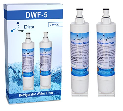 2-Pack - Whirlpool 4396510 Compatible Water Filter - 2-Pack (4396510 Refrigerator Water Filter)