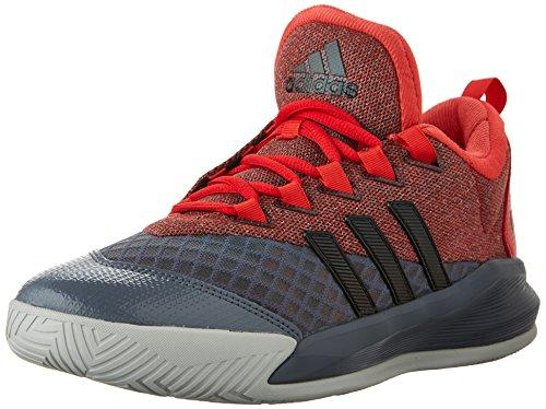 Scarpa Da Basket Adidas Performance Mens Crazylight 2.5 Active Rosso Vivo / Nero / Trasparente Onix Grigio