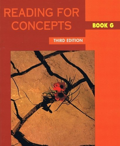 Reading for Concepts : Book G