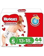 Huggies Essentials Nappies Size 5 (13-18kg) 44 Count