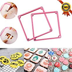 Cookie Decorating Stencil Frame 2 Differ...