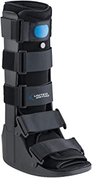 United Surgical Air Cam Walker Fracture Boot, Blue-Medium by United Surgical