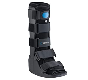 United Ortho Air Cam Walker Fracture Boot, Medium, Black