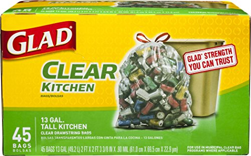 Glad Recycling Kitchen Drawstring Gallon product image