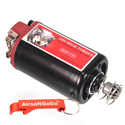 SHS High Torque AEG Motor for AK / PTS ACR/ G36/ M14/AUG Airsoft Ver.3/7 Gearbox [For Airsoft Only]