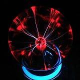 Egomall Touch Sensitive Plasma Kugel Licht Kugel-Licht-magische Kugel für Parteien, Dekorationen, Stütze, Kinder, Schlafzimmer, Haus und Geschenke