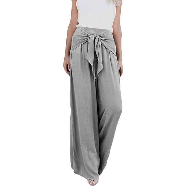 029d63ed4e beautyjourney Elegantes pantalones de pierna ancha