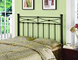 Product review for Coaster Home Furnishings Metal Headboard, Queen/Full, Rustic Metal