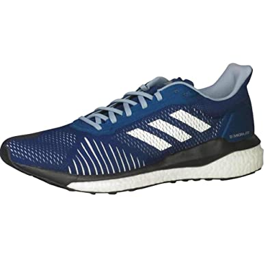 01152fb3ec0f6 adidas Men's Solar Drive ST Running Shoes Legend Marine/Cloud White/Ash  Grey 11.5 D(M) US