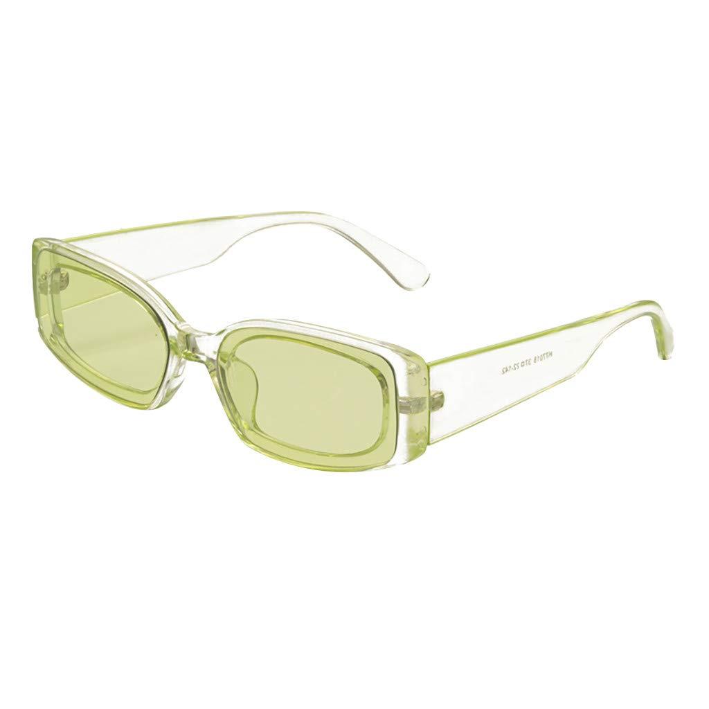 TADAMI Mirrored Color Lenes John Sunglasses Polarized for Men Women Glass Driving Outdoor Green