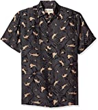 Margaritaville Men's Short Sleeve Marlin Print Shirt