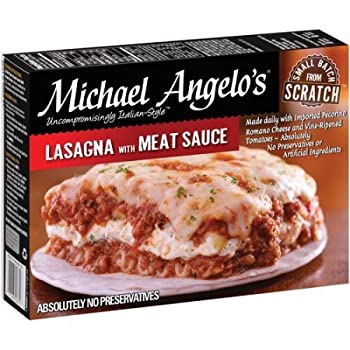 Michael Angelo's Lasagna With Meat & Sauce