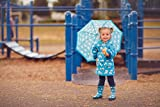 OAKI Kids Rubber Rain Boots Easy-On