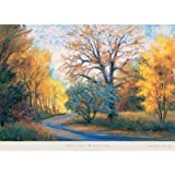 (26x36) Gregory Wilhelmi (Autumn Road) Art Print Poster