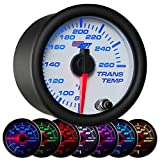 GlowShift White 7 Color Transmission Temperature Gauge by GlowShift