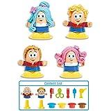 Mallya Little Hair stylist Play Dough Playset for kids