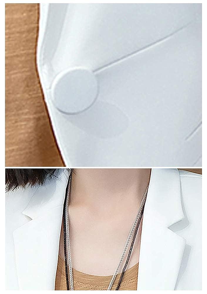 Women/'s Casual Long Sleeve Blazer Jacket One Button Slim Office Business Blazers for Women