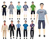 ken doll clothes and accessories - XADP 5 Sets Ken Clothes Doll Casual/Career Wear Clothes Jacket Pants Outfits for Barbie's Boy Friend Ken Barbie Dolls