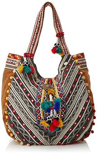 10573 Valeria Multicoloured Multicolour Mazza Shoulder Bag Women's xxAwB